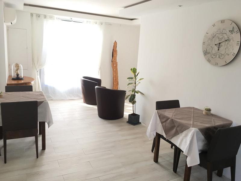 Domaine Hortensias : Pièce à vivre des chambre d'hôtes aux Moutiers en Retz